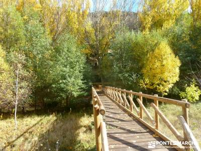 Hoces Río Riaza - Villa Ayllón; parques naturales de la rioja turismo por guadalajara